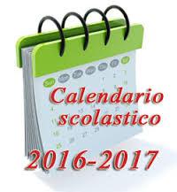 Calendario Scolastico 2016/17