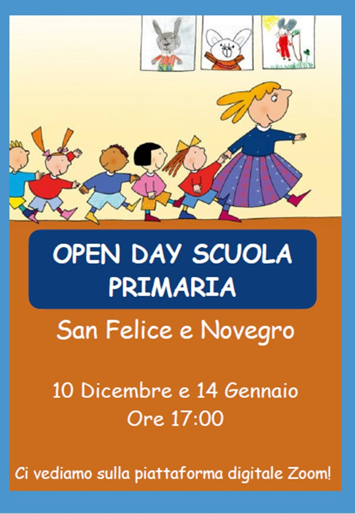 Locandina open day primaria
